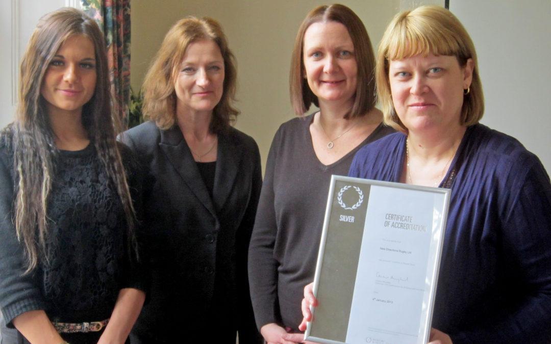 Silver Investors In People Award