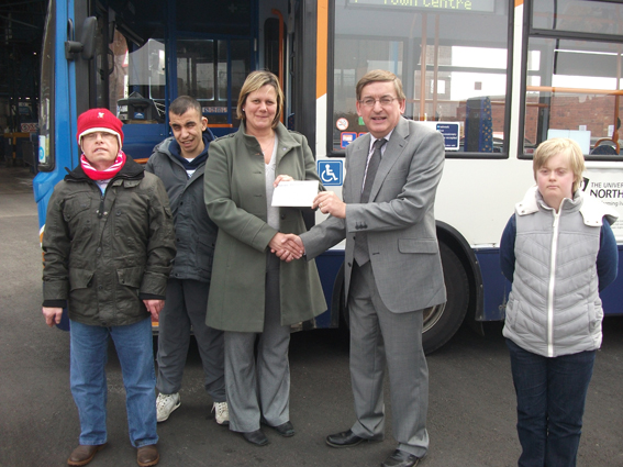 Stagecoach Midlands Donation