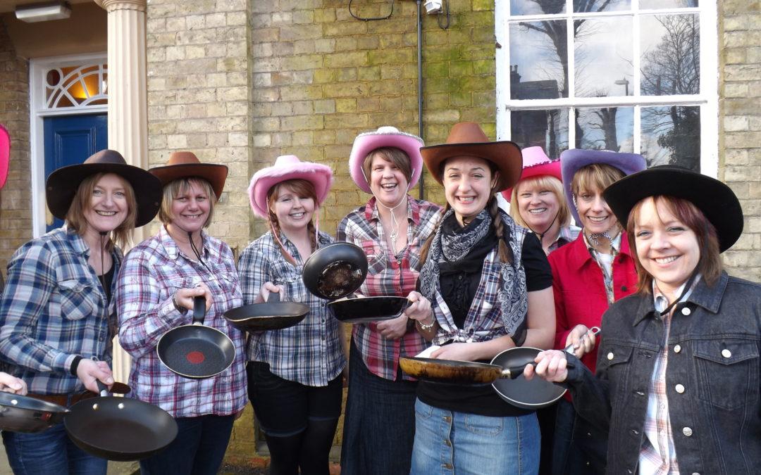 Flipping Brilliant Pancake Race