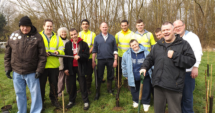 Growing Community Spirit with Trees