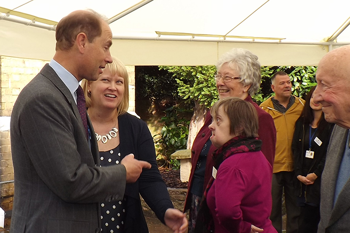 Landmark visit by Earl of Wessex