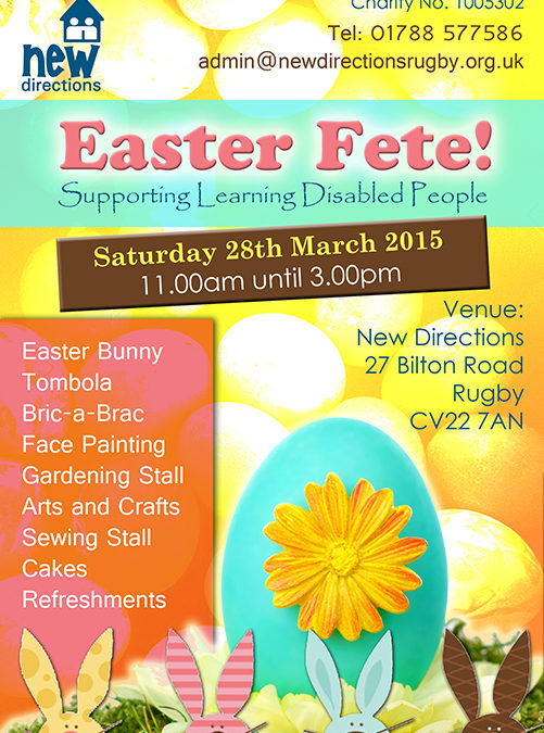 Egg-citing Easter Fete Coming Soon