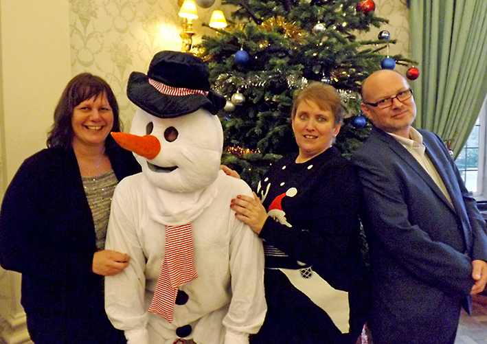 Hotel Hosts a Charity Christmas Meal
