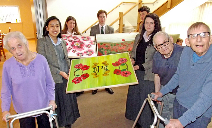 Rugby School Picture Perfect for Poppy Place