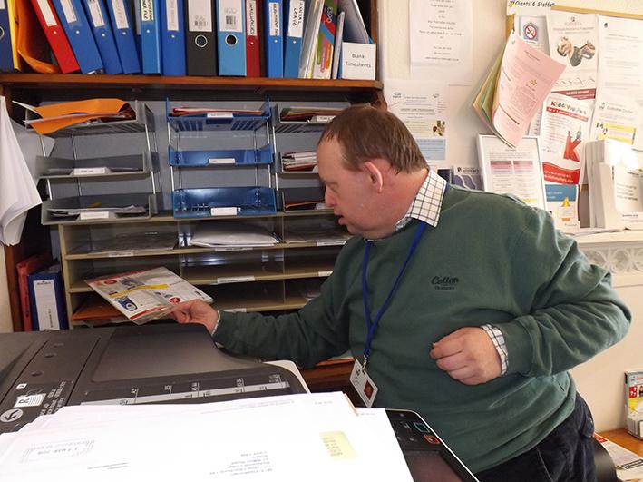 Paul Takes Pride In Volunteering