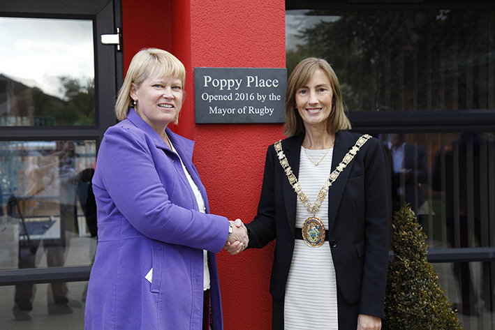 Mayor's Official Opening of Poppy Place