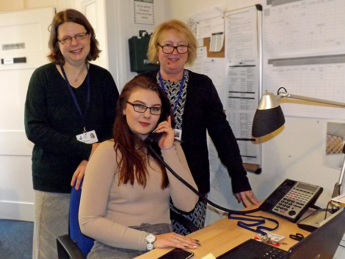 Courtney's Apprenticeship Gaining Office Skills