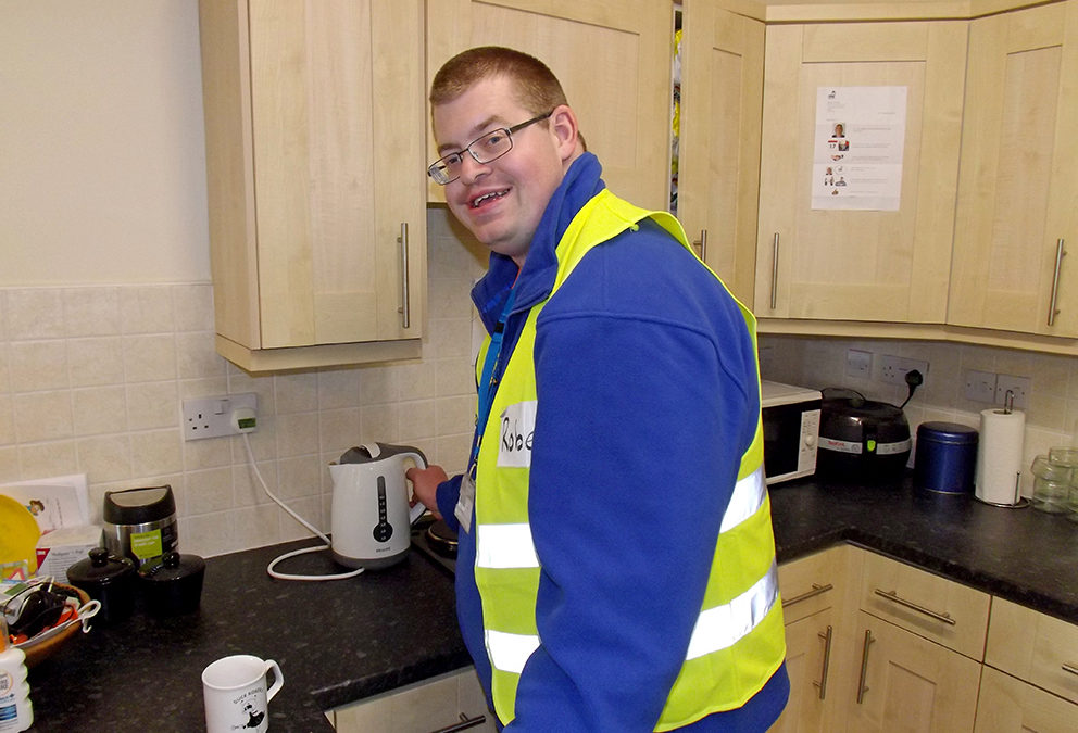 A Route to Employment – Rob's Story
