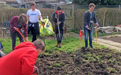Double Support From Prince's Trust Volunteers