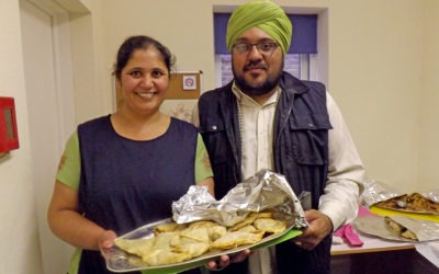 Fundraiser With A Taste Of India