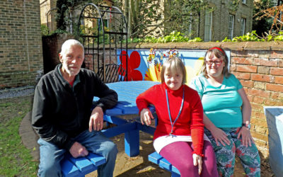 Donations Provide Adapted Garden Furniture