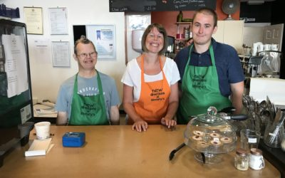 Volunteers With Disability Run Moriarty's Café