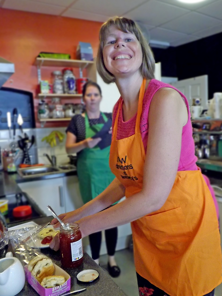 Volunteers With Disability Run Moriartys Café New Directions