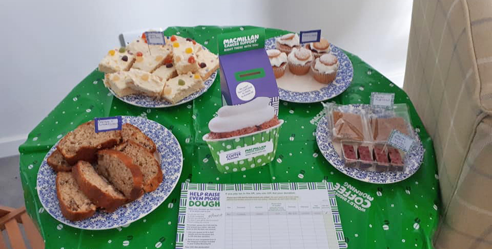 Cakes And A Close Shave Fundraisers For Macmillan