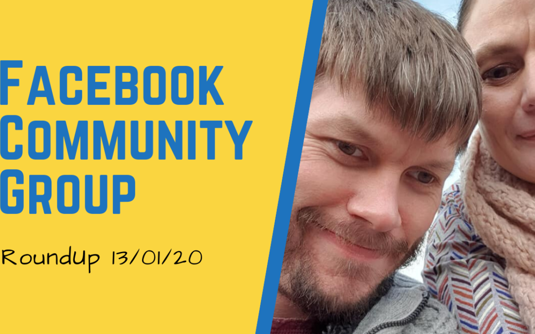 A Week's Facebook Community Group RoundUp
