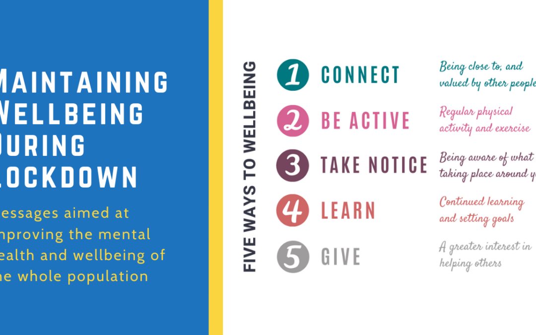5 Ways To Wellbeing During Lockdown